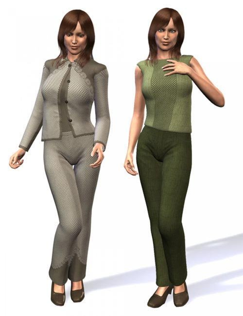 Cosmopolitan Girl Suit for V4