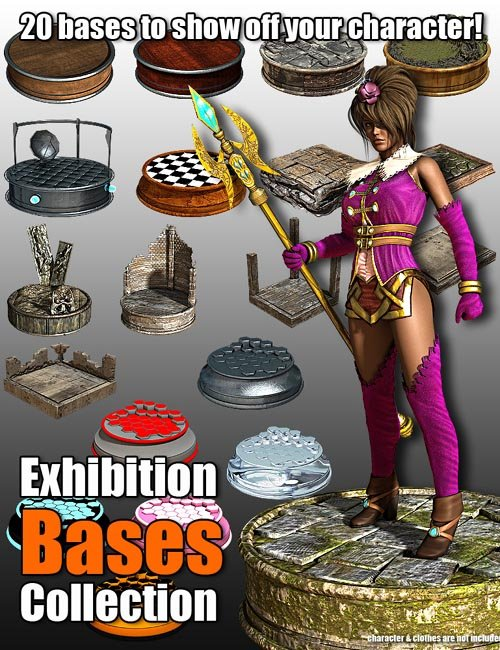 Exhibition Bases Collection