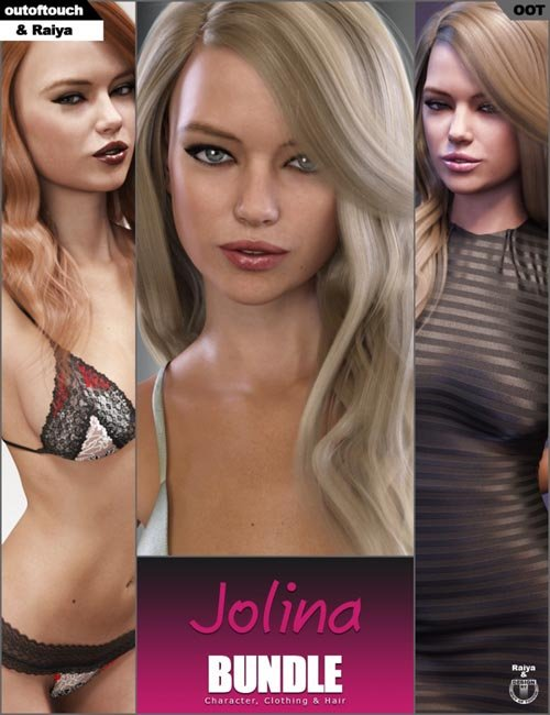 Jolina Character, Clothing and Hair Bundle