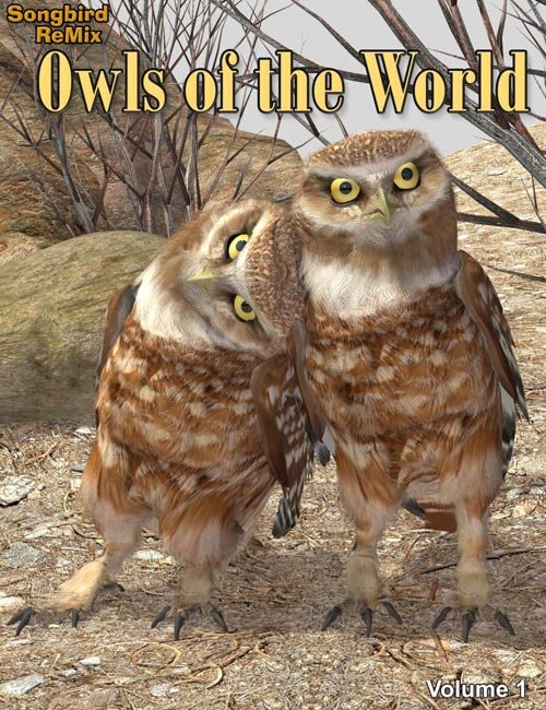 [UPDATE] SBRM Owls of the World Volume 1