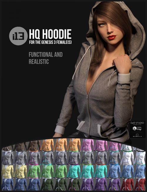 i13 HQ Hoodie for the Genesis 3 Female(s)