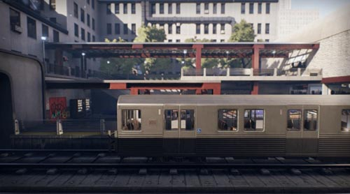 Unreal Engine 4 Marketplace – Subway Environment