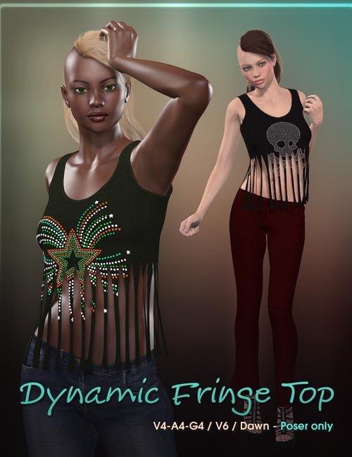 Dynamic Fringe Top