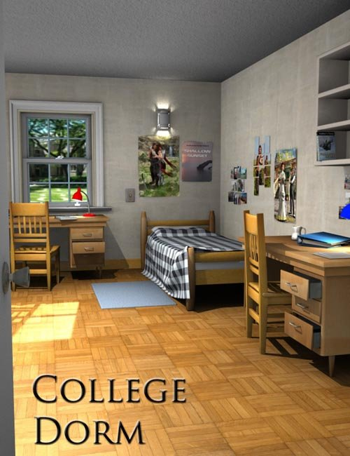College girl dorm bundle best daz3d poses download site for Best college dorms in the us