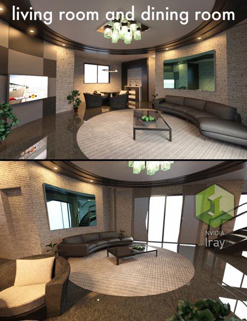 Sci fi engine room a best daz3d poses download site for Living room 2 for daz studio