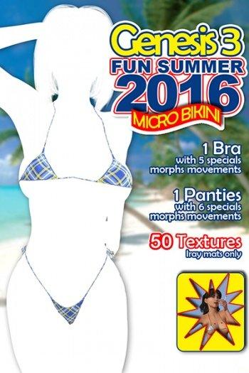 Fun Colors for Hot Summer 2016 Micro Bikini G3F