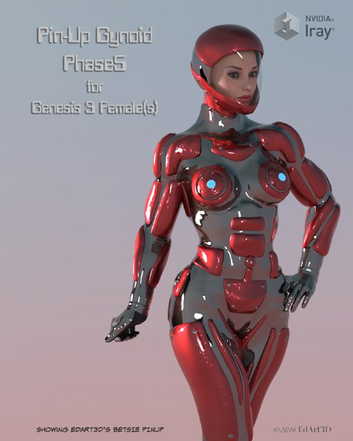 Pin-Up Gynoid Phase5 for G3F