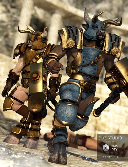 Beastial Battle Armor Knossos Textures