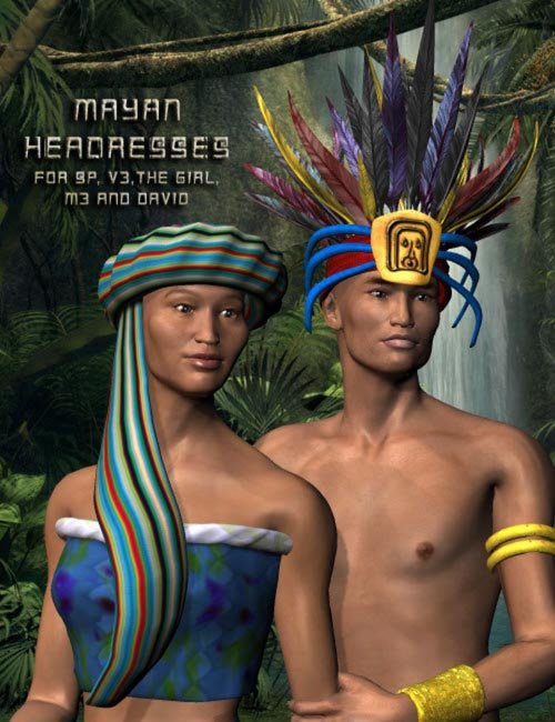 Mayan Headdress Pack
