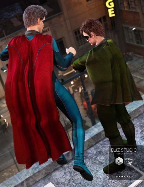 Super Hero Cape New Hero Textures