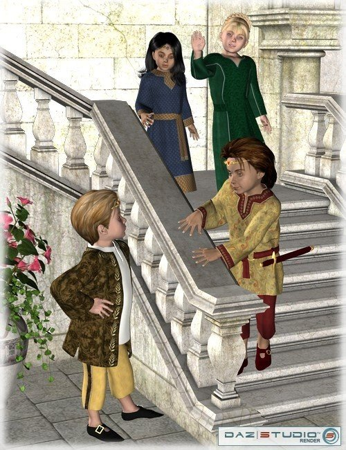 Royal Riches for Medieval Matt & Maddie