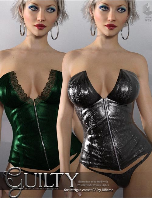 Guilty for Intrigue Corset G3