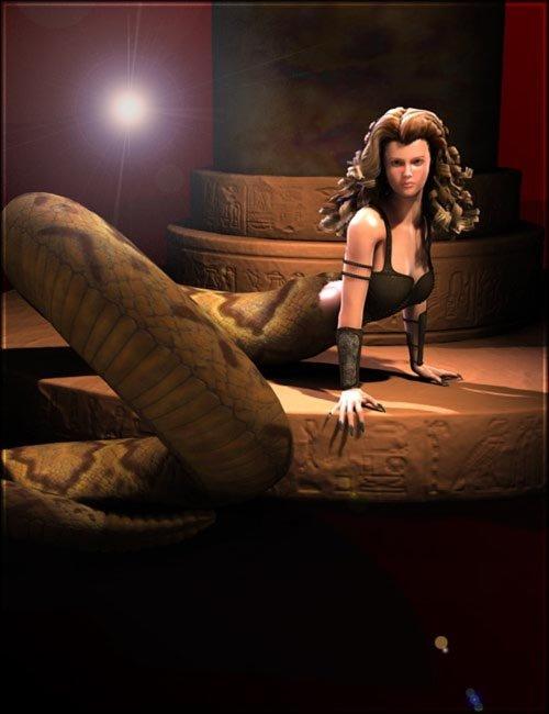 Creatura Serpenta for Victoria 4