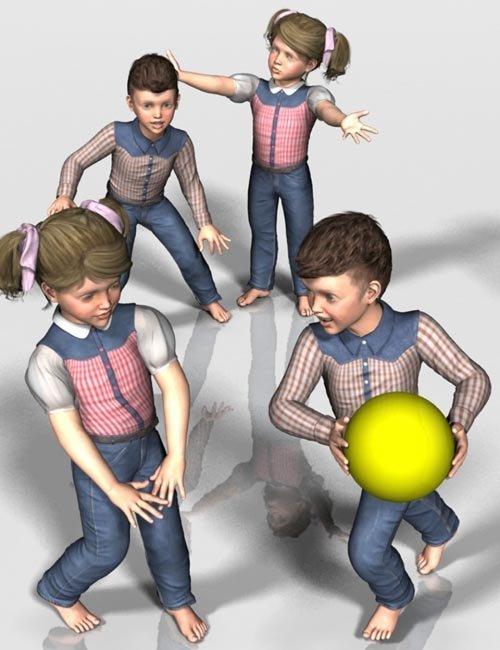 Kids 4 Playtime Poses