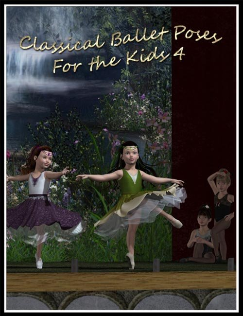 Classical Ballet Poses for The Kids 4