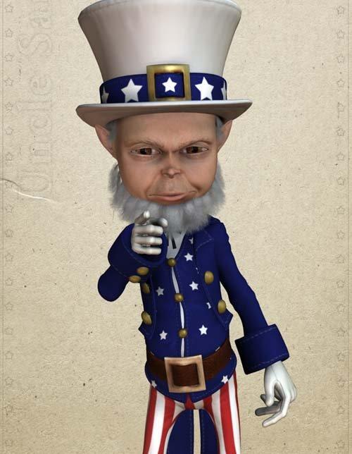 Uncle Sam for Gosha
