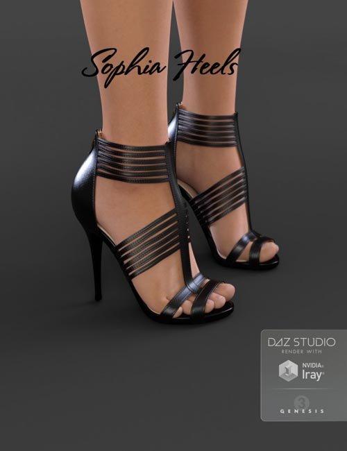 [UPDATE] Sophia Heels for Genesis 3 Female(s)