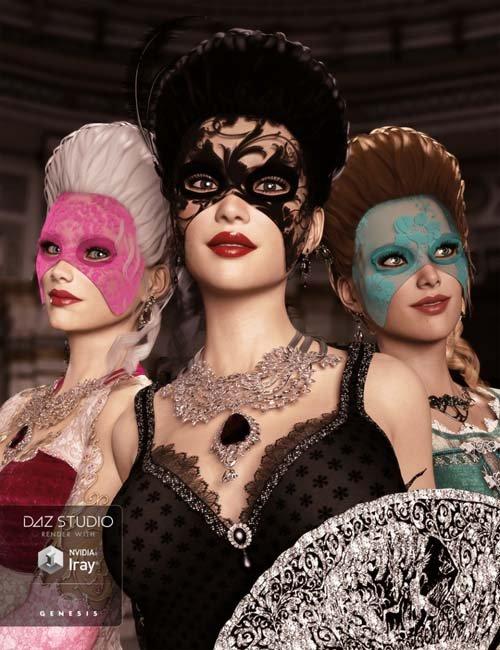 Morphing Mask for Genesis 3 Female(s)