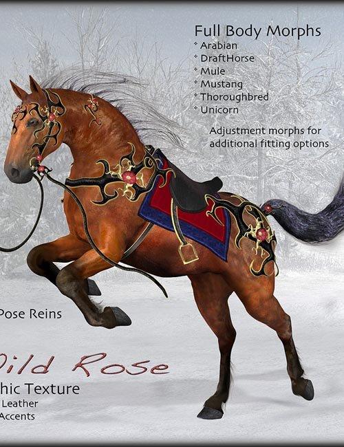 Wild Rose for the Millennium Horse