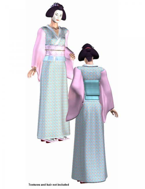 Kimono Expansion Pack for Victoria 3 MFD