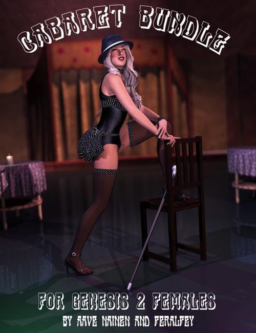 Cabaret Bundle for Genesis 2 Female(s)