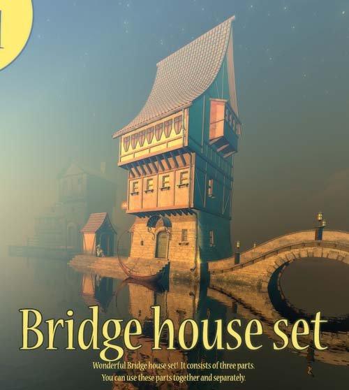 Bridge house set
