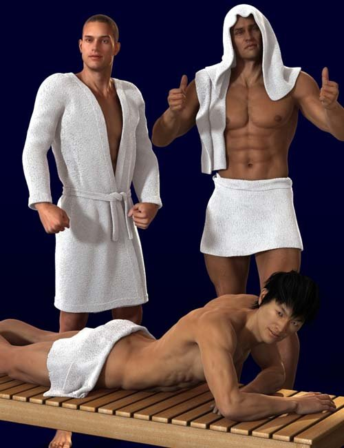 Bath Wear for Genesis 2 Male(s)