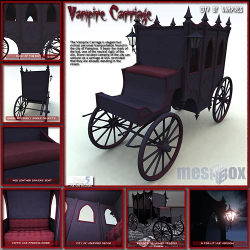 The Vampire Carriage (V1VV101-3DS)