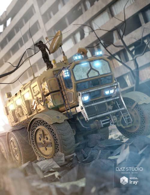 Sci-fi Rover: Titan