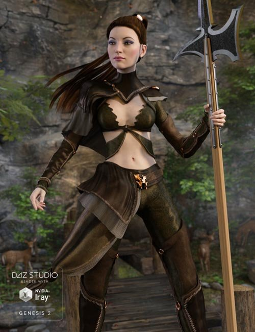Nomadic Huntress for Genesis 2 Female(s)