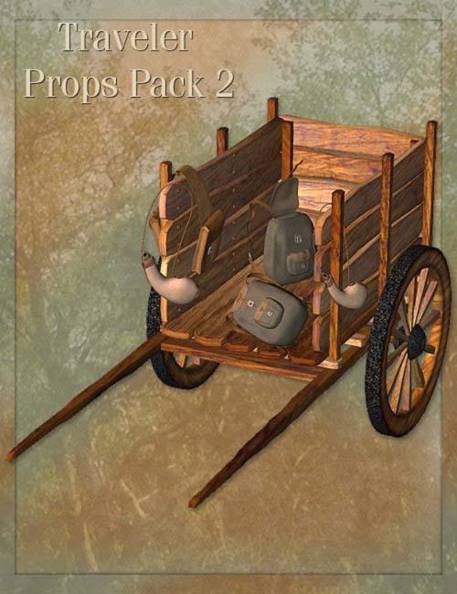 Traveler Props Pack 2 [ Iray UPDATE ]