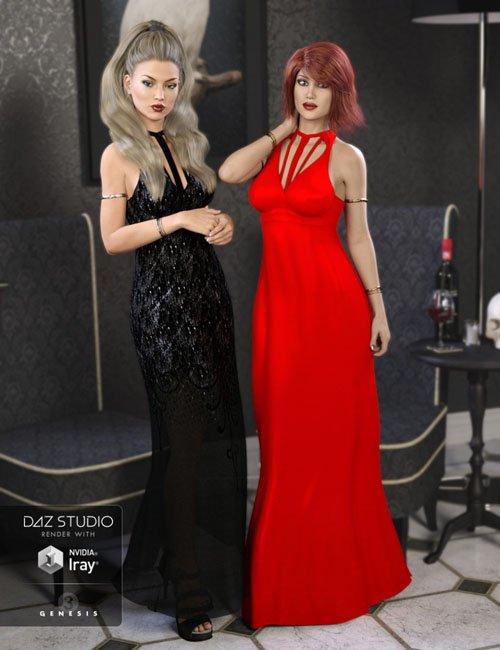 The Maxi Dress Bijoux Textures