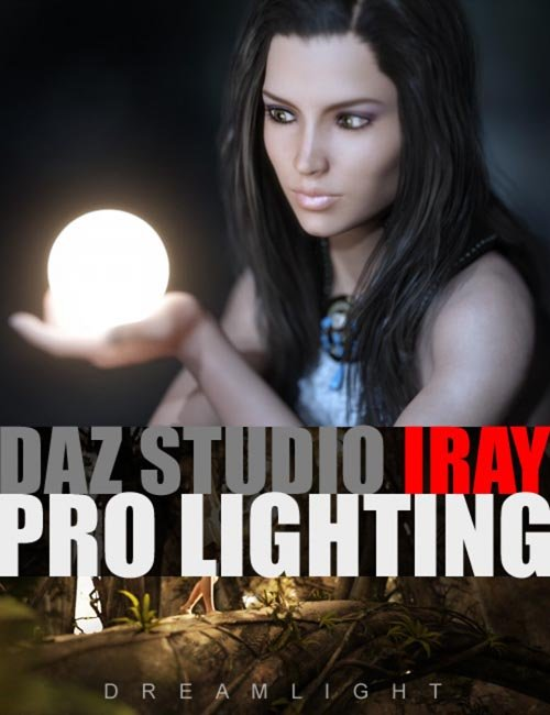 DAZ Studio Iray Pro Lighting