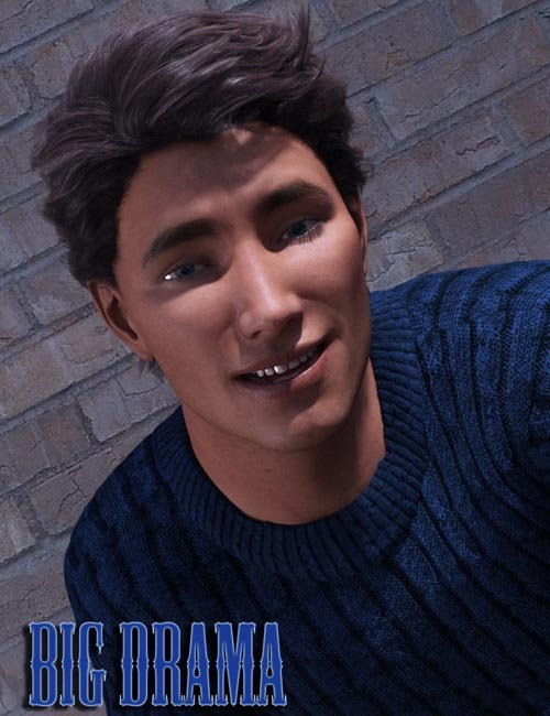 Big Drama Expressions for Genesis 3 Male(s)