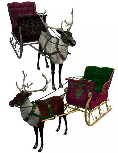 [UPDATE] Reindeer & Sleigh