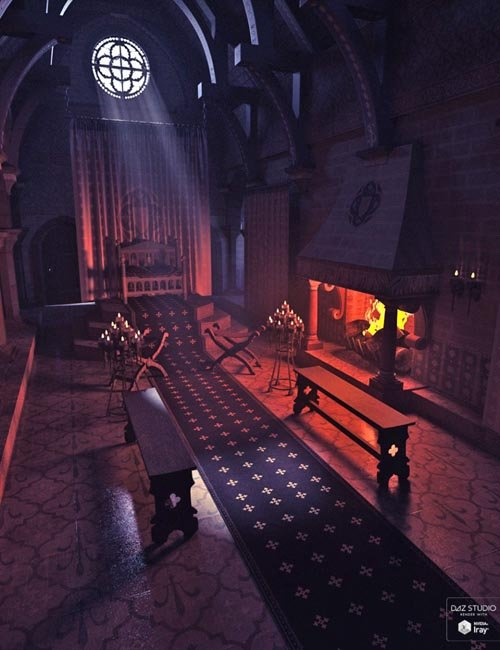 Medieval Throne Chamber
