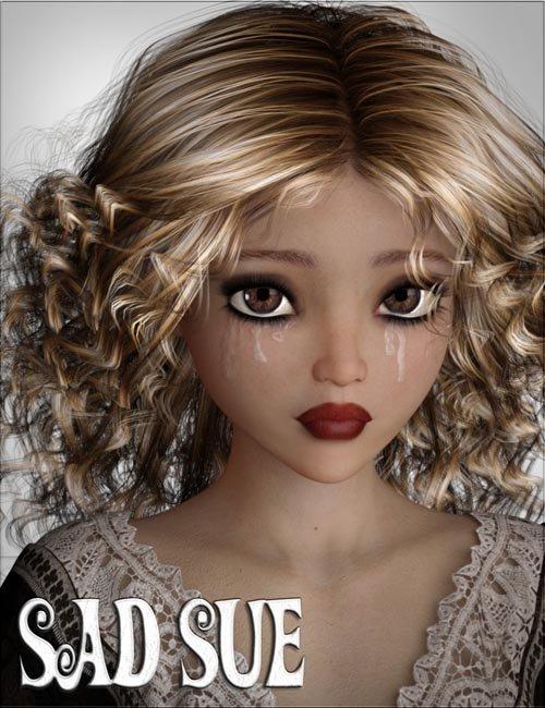 VYK_Sad Sue for Genesis 3 Female