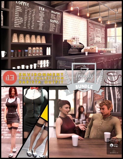 [Update] i13 Trendy Coffee Shop Bundle