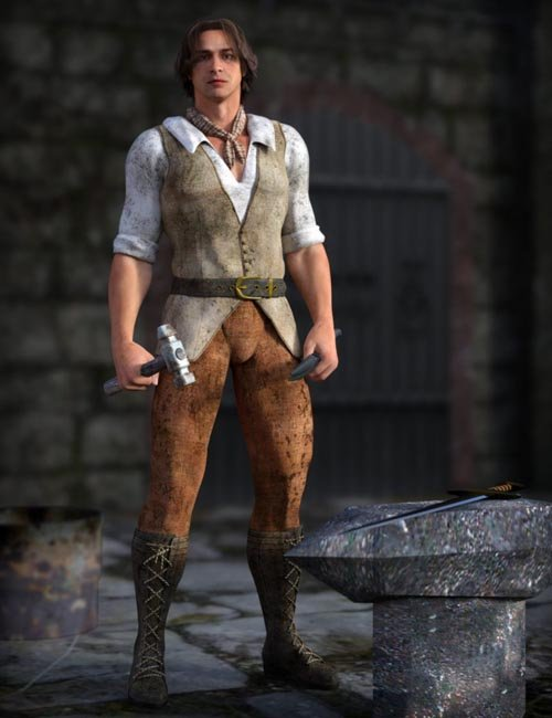 Work Clothes for Genesis 2 Male(s)