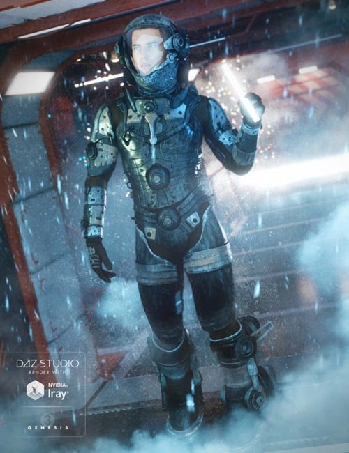 EXO Suit for Genesis 3 Male(s)