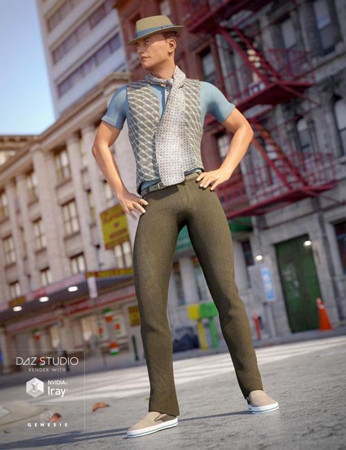 On the Town for Genesis 3 Male(s)