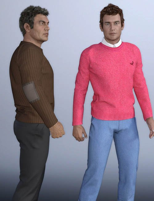 European Clothes for Genesis 3 Male(s)