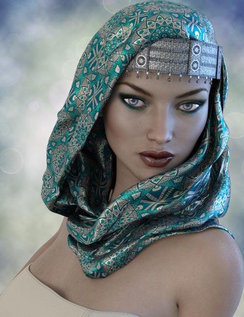 X-Fashion Turban Scarf for Genesis 3 Female(s) [REUPLOADED]