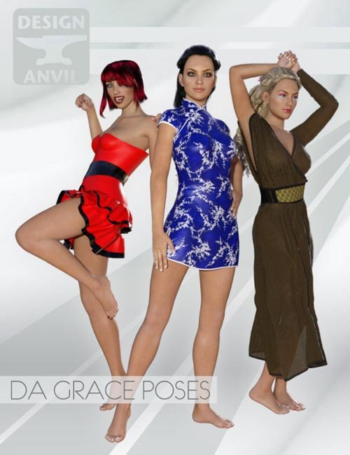 DA Grace Poses for Genesis 3 Female(s)