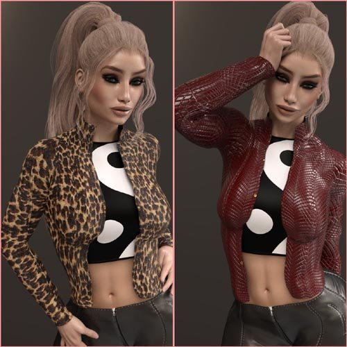 InStyle - X-Fashion ChickJacket for Genesis 3 Female(s)