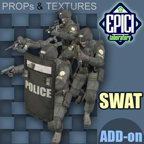 SWAT Soldier Add-On for SoldierLwR01 and SoldierLwR02