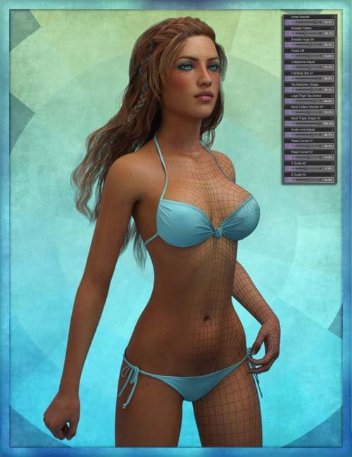 Genesis 3 Female Body Morph Resource Kit 2
