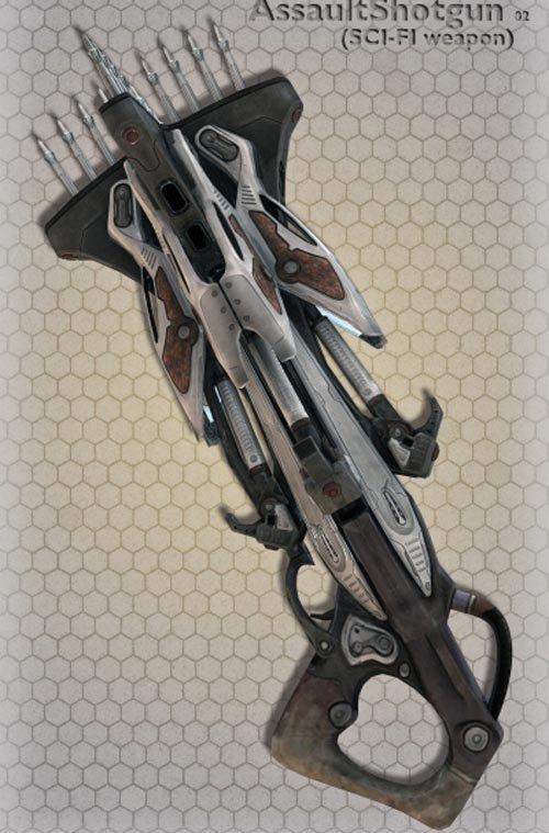 Hi-Teck AssaultShotgun 02