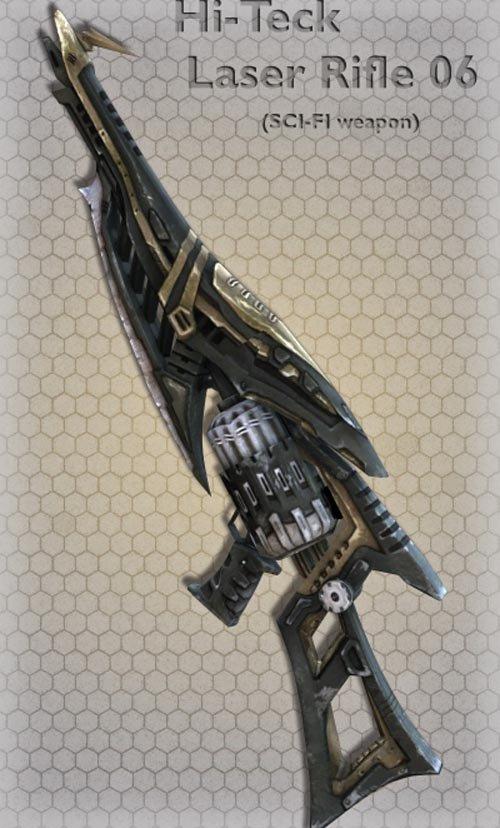 Hi-Teck Laser Rifle 06