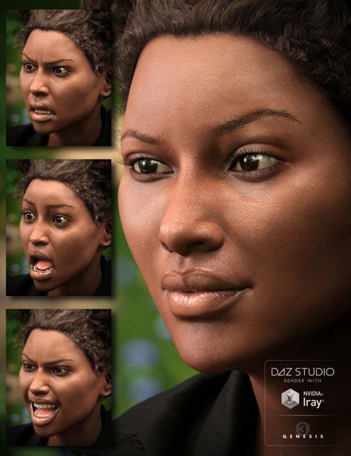 Monique 7 Wild Expressive